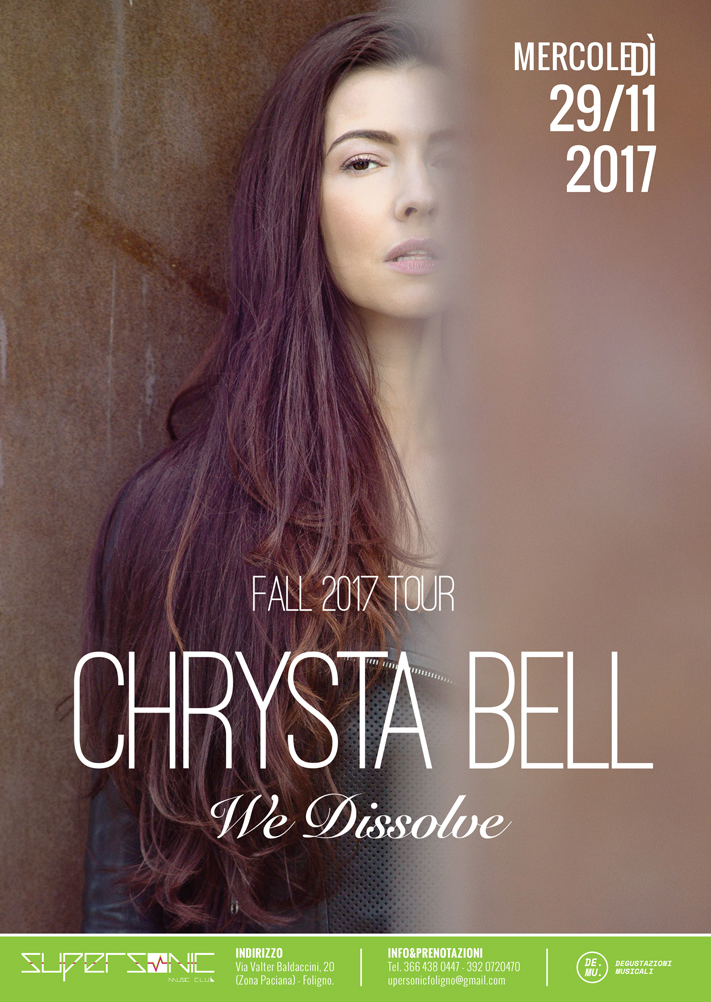 Chrysta Bell – TWIN PEAKS – We dissolve Tour